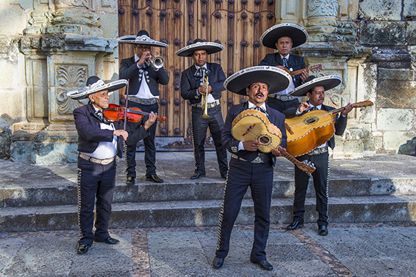 Mariachi band Oaxaca